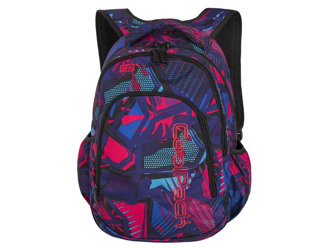 CoolPack Prime 23L CRAZY PINK ABSTRACT