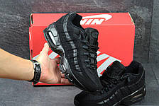 Мужские кроссовки Nike air max 95,черные, фото 2