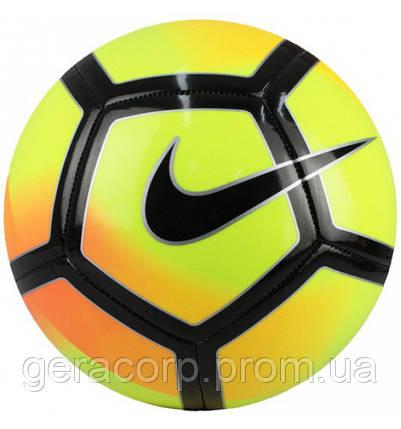 Мяч футбол Nike Pitch yellow/black size 5, фото 2