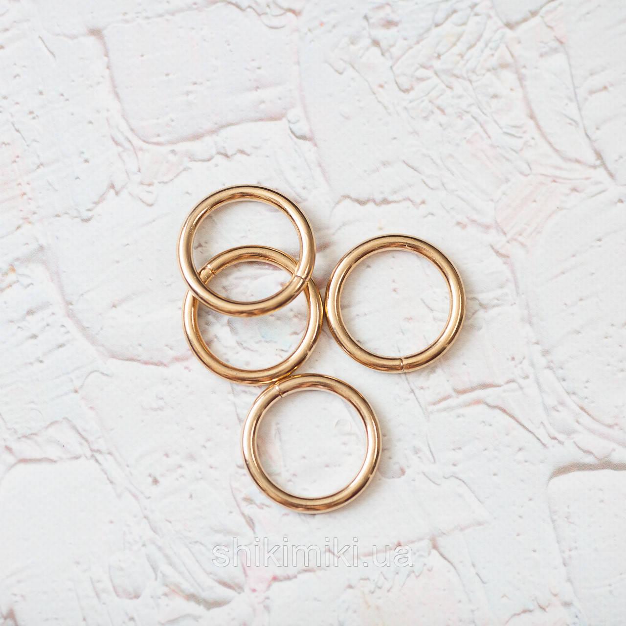 Кольца соединительные KL31-3 (31 мм), цвет золото
