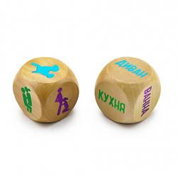 Дерев'яні кубики Камасутри