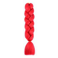 Алый Красный  Канекалон коса для плетения LiSa А13