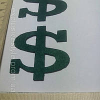 Термонаклейка Dollar