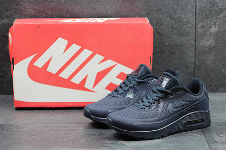 Мужские кроссовки Nike Air Max 1 Ultra Moire,темно синие, фото 2