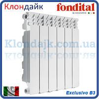 Алюминиевый радиатор Fondital Exclusivo B3 500*100 (Италия)