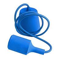 Подвесной светильник E27 синий  1м, фото 1