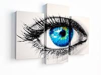 Печать фото на холсте с галерейной натяжкой на подрамник 30х65, фото 1