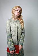 Кардиган куртка накидка плащ женский легкий весенний Тонкий пиджак