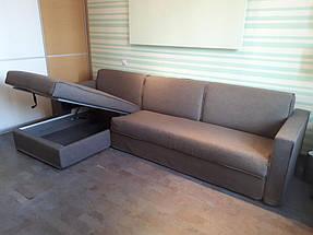 Раскладной угловой диван ARGO фабрики ALBERTA (Италия) в комнате студента 2