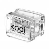 Точилка для косметических карандашей (прозрачная, с одним лезвием) Kodi