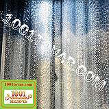 Силіконова шторка для ванної кімнати з 3D ефектом, розмір 180х180 див., кольорова, фото 4