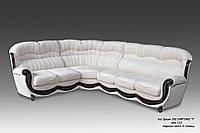"""Кожаный угловой диван """"Джове"""""""