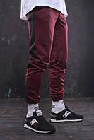 Мужские спортивные штаны бордовые от бренда ТУР модель Рокки, фото 1