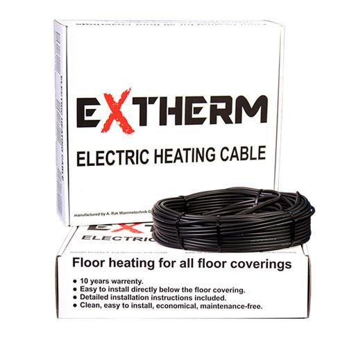 Двужильный нагревательный кабель EXTHERM ETC ECO