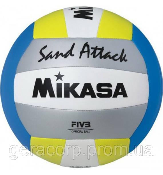 Мяч для пляжного волейбола Mikasa VXS-SA