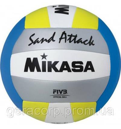 Мяч для пляжного волейбола Mikasa VXS-SA, фото 2