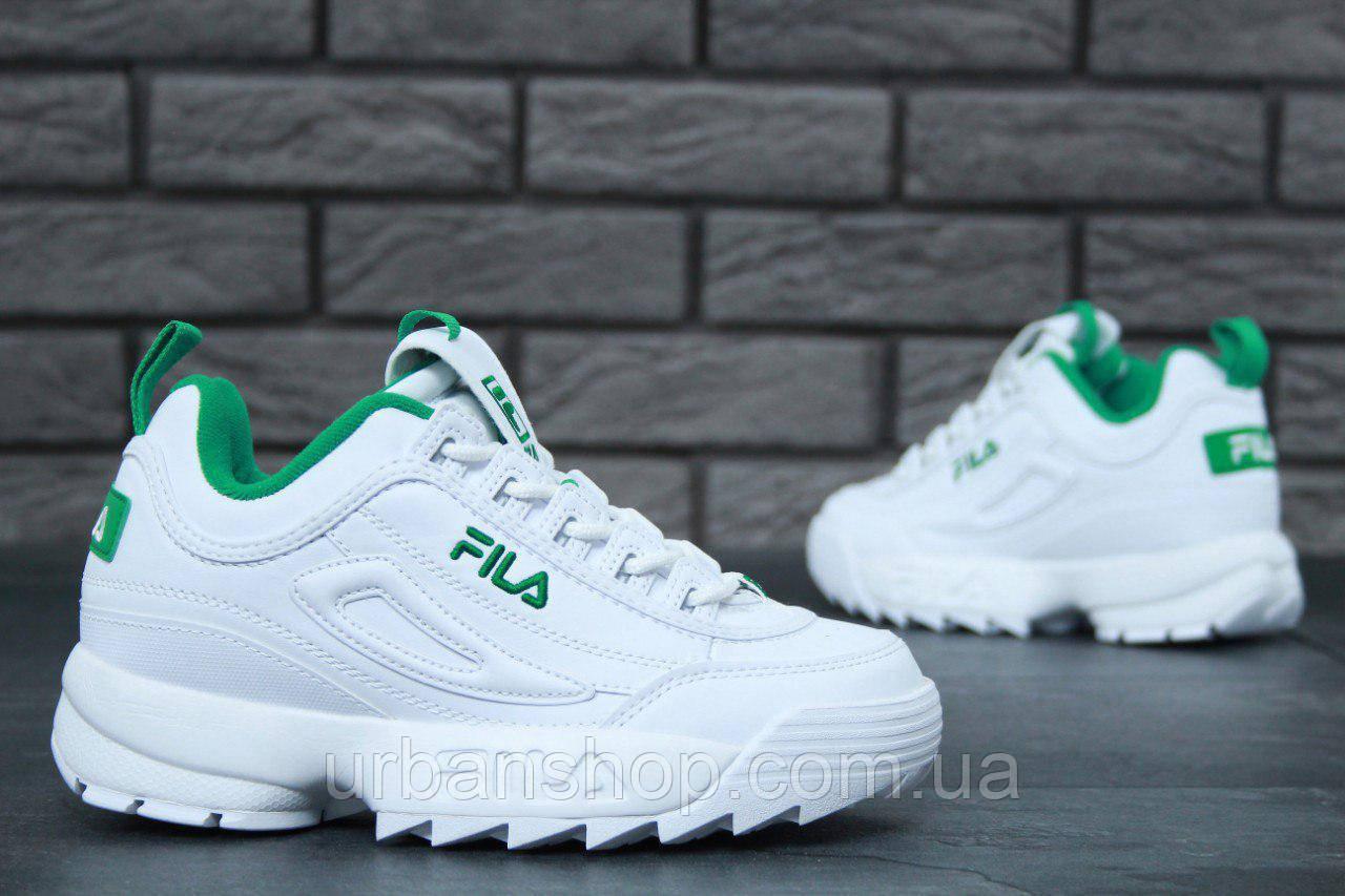 Кроссовки Fila Disruptor II женские белые