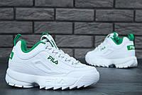 Кроссовки Fila Disruptor II женские белые, фото 1