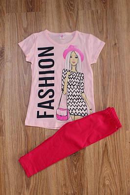 Розовий Летний костюм   продажа 8f9c9dc4ed29c