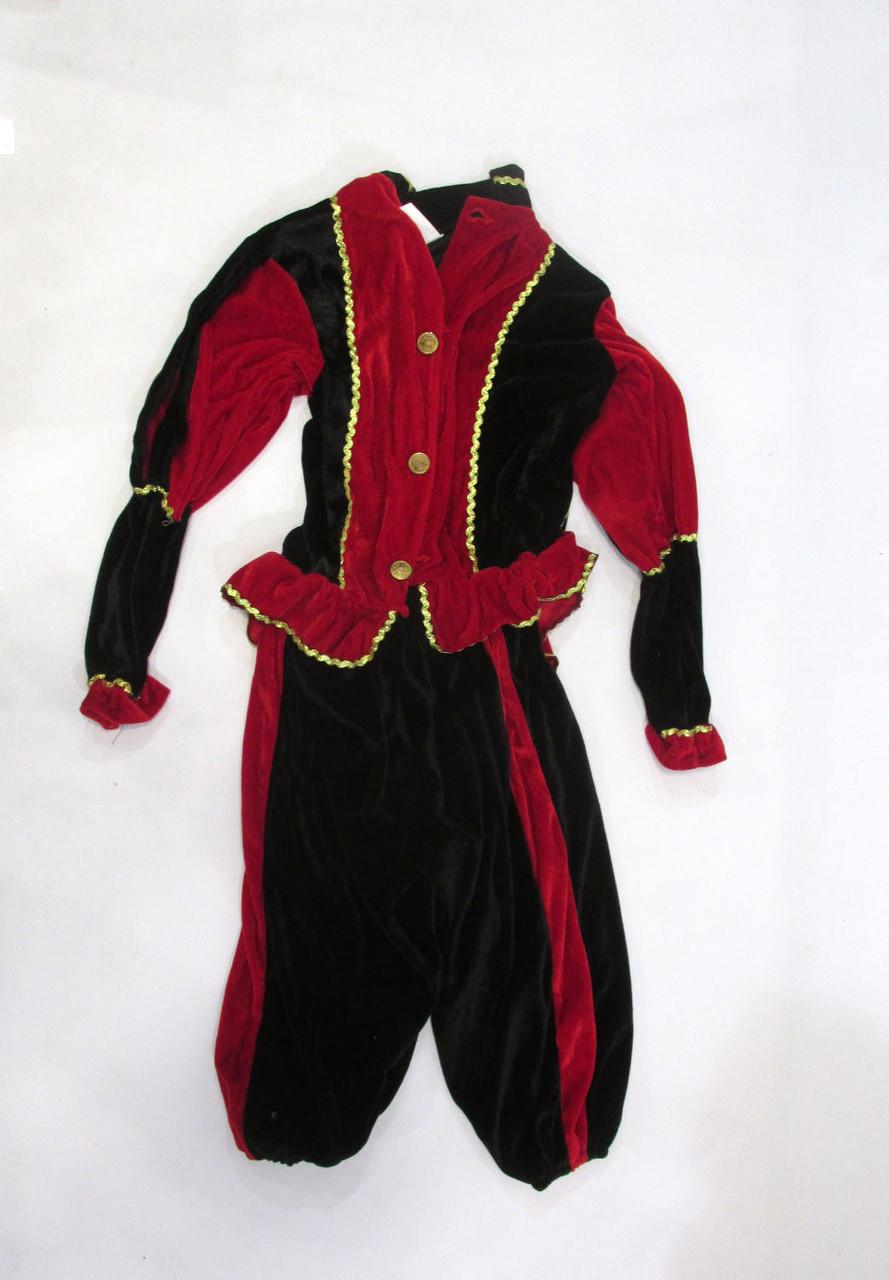Костюм карнавальный вельветовый, на рост 152 см, детский, Как Новый!