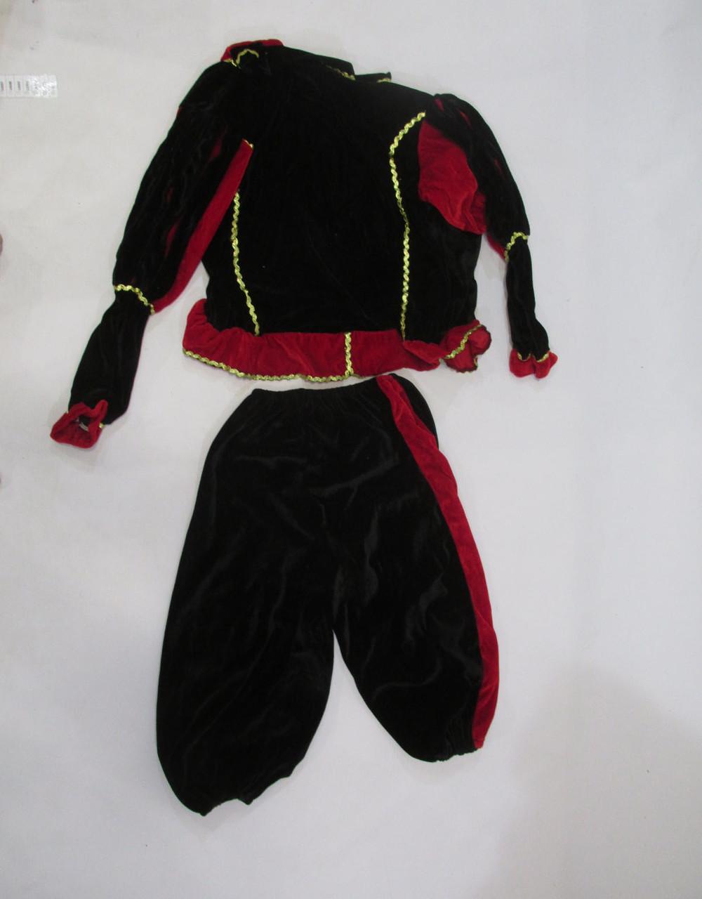 Костюм карнавальный вельветовый, на рост 152 см, детский, Как Новый! 6