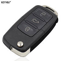 Выкидной ключ VW Volkswagen на 2-3 кнопки