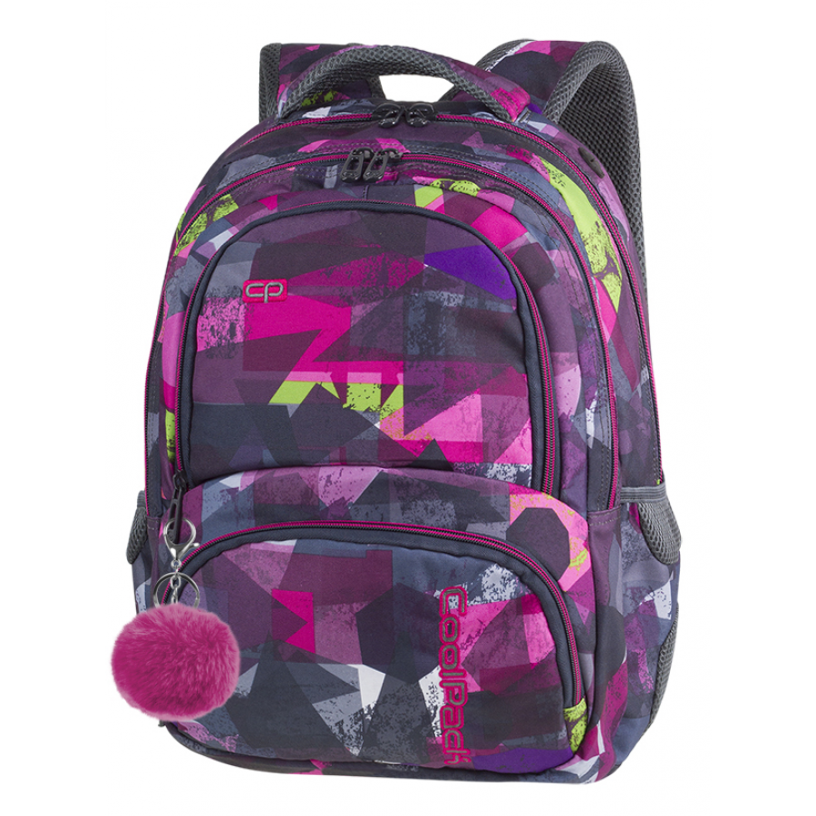 CoolPack Spiner 27L PINK ABSTRACT
