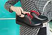 Черные ботинки из натуральной кожи, фото 4