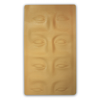 Муляж верхней части лица для мастеров перманентного макияжа Kodi