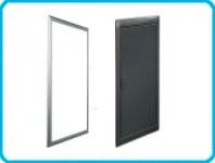 Рамка для вставок для 3-рядного распределительного щита VOLTA черная
