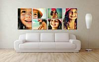 Печать фото на холсте с галерейной натяжкой на подрамник 65х65, фото 1