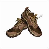 Кроссовки тактические летние, обувь для военных, кожа олива