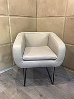 """Барное кресло """"Mercury"""" из нубукированной кожи"""