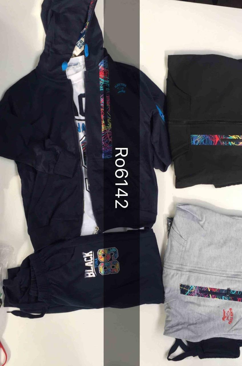 Спортивный костюм тройка для мальчиков Setty Koop 8-16 лет