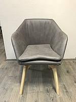 """Барное кресло """"Lennon"""" из нубукированной кожи"""