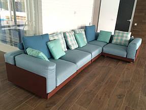 Модульный диван ASAMI IRON OUTDOOR на металлическом каркасе, фабрика COLICO (Италия) 1