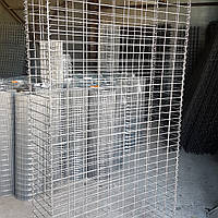 Сетка сварная, ячейка 50х100 мм., диаметр 4 мм., размер листа 1х1,5 м., оцинкованная