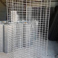 Сетка сварная, ячейка 50х100 мм., диаметр 4 мм., размер листа 0,5х2 м., оцинкованная