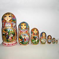 Матрешка миниатюрная живопись
