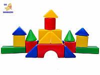 Конструктор кубики Городок большой