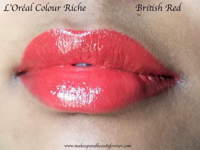 помада L'Oréal Paris Colour Riche British Red №350
