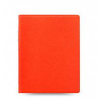 Блокнот Filofax Saffiano Средний А5 Bright Orange (16,3х21,4 см) (115059)