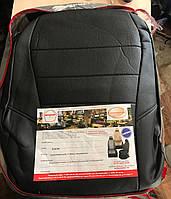 Акция! Авточехлы из экокожи Toyota Highlander 3 с 2014-н.в. джип (U50) Автолидер Черные