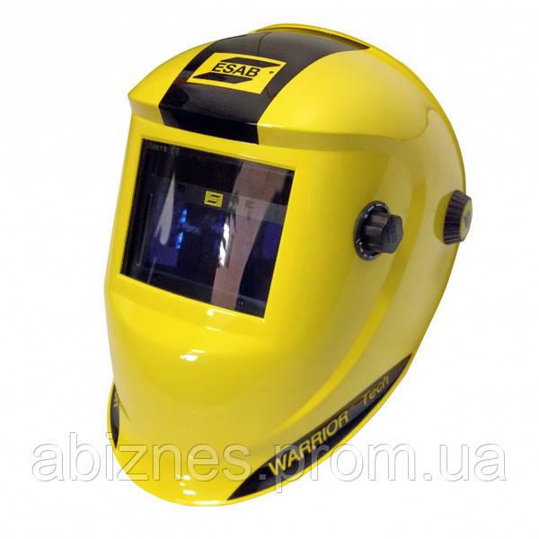 Маска сварщика WARRIOR Tech Yellow