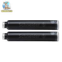 Капсулы - картридж для чернильной ручки S6621 черный