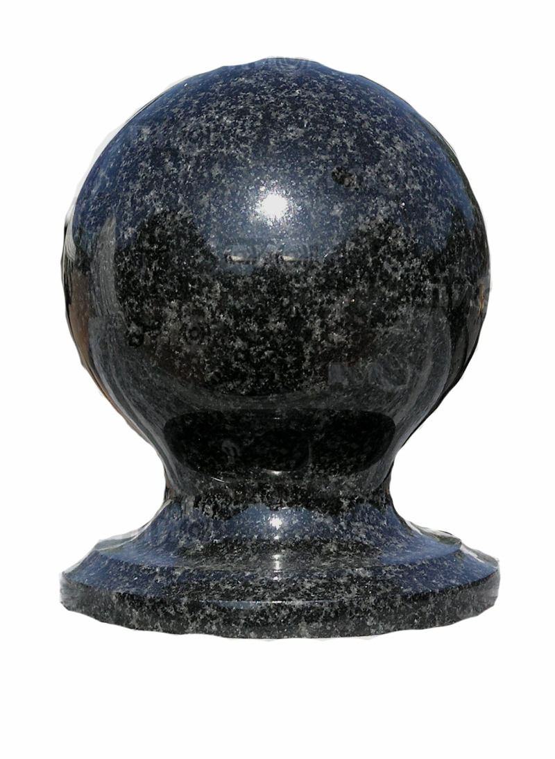 Шар из камня D100mm чёрный