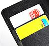 Кожаный чехол-книжка  для Lenovo A2010 коричневый, фото 2