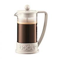 Кофейник Bodum Brazil 0.35 л (белый)