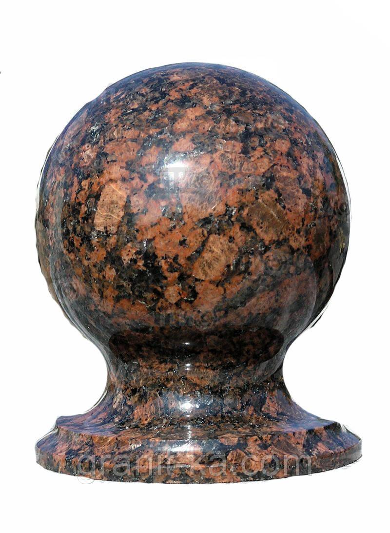Гранитный шар D100mm цветной
