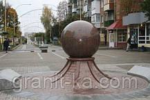 Гранитный шар D100mm цветной, фото 3